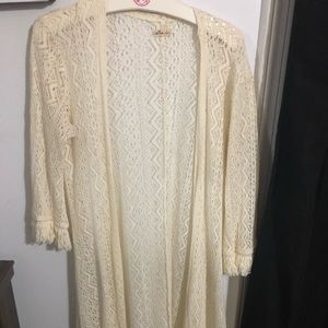 Off white, Maxi Cardigan